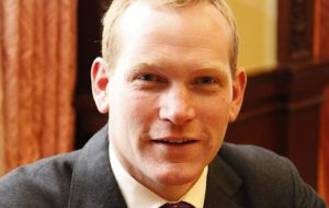 Foreign Office Minister Jeremy Browne will be present in the Falklands for the 30th anniversary