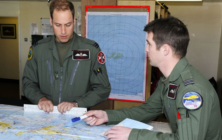Prince William at 1564 Flt Search&Rescue offices in Mount Pleasent Complex