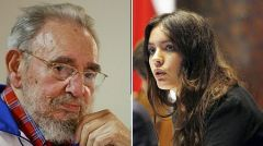 He praised Chilean student leader Camila Vallejo and Hugo Chavez