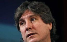 Vice president Boudou, the short term financial logics does not serve the purposes of the country