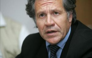 Almagro admitted Argentina openly violates the basic principles of Mercosur