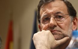 Rajoy with an economy in recession faces 24% unemployment which soars to 50% for young Spaniards