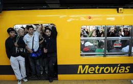 Blame the Buenos Aires subway hike for the January jump in consumer prices