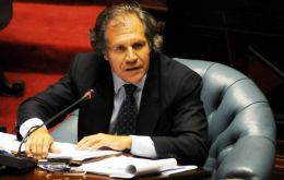 Minister Luis Almagro made the announcement before the Uruguayan parliament