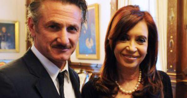 Falklands: Sean Penn in Argentina, calls for dialogue and an