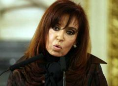 Domestic market and industry will be defended but as long as there is a strong investment counterpart said CFK