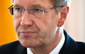 Christian Wulff, was a close political associate of Chancellor Merkel who proposed him as president in 2010 (Photo AP)