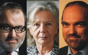 "Jorge Lanata, Beatriz Sarlo and Fernando Iglesias among the free thinkers who helped elaborate ""Malvinas, an alternative view"""