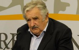 Uruguay's president underlines support for Argentina's claim