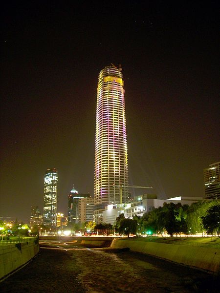 Santiago De Chile Has The Tallest Building In South