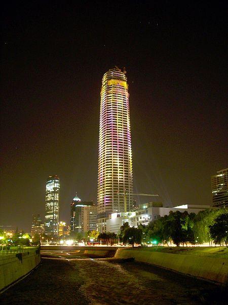 Santiago De Chile Has The Tallest Building In South