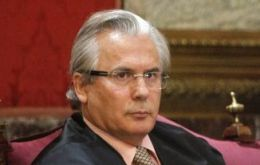 The Spanish judge is known for ordering the arrest of former Chilean dictator Augusto Pinochet in 1998
