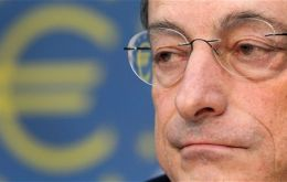 "Mario Draghi said a ""major, major credit crunch"" was averted"