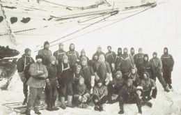 Shackleton and his team almost a hundred years ago