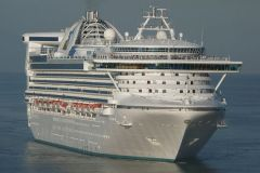 "The ""Star Princess"" was originally scheduled to call in Ushuaia March 8"