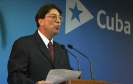 "Minister Bruno Rodríguez: the US is acting with ""disdain and arrogance"""