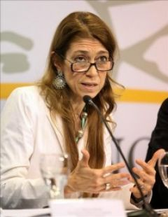 Industry minister Debora Giorgi, a crusader for Argentine manufacturing
