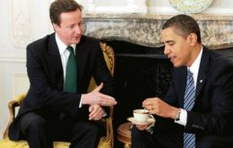 A long list of international issues for the two leaders: could it include the Falklands?