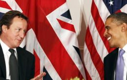 Obama went out of his way and treated PM Cameron to some of the privileges of a head of state visit