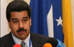 "Venezuela's Nicolas Maduro: ""there can be no colonial enclave in South America"
