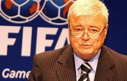 A possible successor to FIFA president Sepp Blatter, his letter of resignation was 'irrevocable'