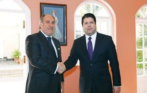 Algeciras mayor Landaluce met with Gibraltar Chief Minister Picardo