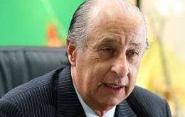 Marco Polo del Nero is head of the Sao Paulo football federation