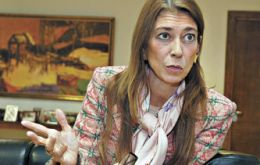 Debora Giorgi, whose ministry of industry is at the heart of the claims