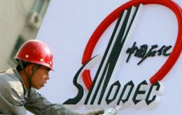 Sinopec is the largest oil and petrochemical products company in China