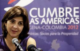 Foreign Minister Ms Holguin from Colombia, which hosts the summit, made the announcement