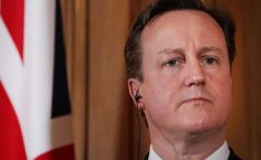PM Cameron the target of the latest Foreign Affairs ministry communiqué