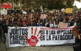 The project has triggered massive protests throughout Chile