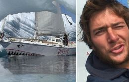 Jarle Andhøy and his yacht Nilaya (tv2,no)