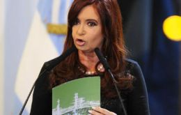 Cristina Fernandez is expected to make the announcement on Thursday