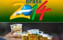 The 'sponsors' bill refers to the sale of alcohol in Brazilian stadiums currently barred
