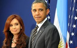 The two presidents held a thirty minutes meeting considered successful by Argentine sources