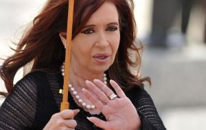 "According to the Colombian media CFK was ""furious"", ""why did I come here?"""