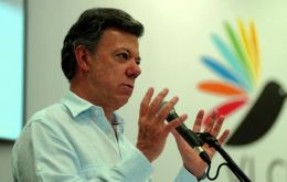 """There was no declaration because there was no consensus,"" said Colombian President Juan Manuel Santos."
