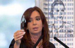"Cristina Fernandez said that her government focuses ""on recovering our resources, not promoting nationalizations"""