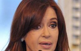 Cristina Fernandez, 'now we are recovering that strategic instrument'