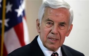 Senator Lugar asked several questions which Ms Clinton could not answer and were later forwarded in a report