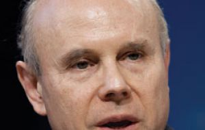Mantega wants implementation of agreement lessening Europe's sway