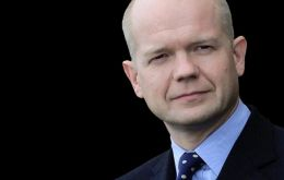 Foreign Secretary Hague: Falklands entitled to develop oil and fishing industries without interference from Argentina