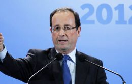 Francois Hollande promises to be a unifying president