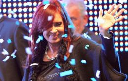 "The Argentine president admitted to being ""nervous and anxious"" when making the YPF seizure announcement (Photo: TELAM)"