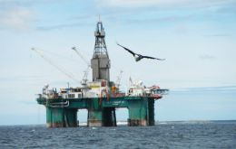 The Leiv Eiriksson rig will next move on to drill the larger Stebbing prospect (Photo FOGL)