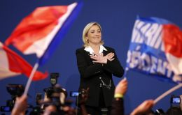 The far-right candidate wants Sarkozy support in parliamentary elections