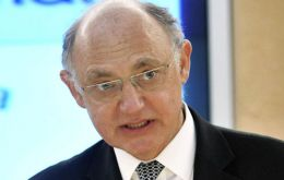 Timerman again working hard to be member of the inner Cristina Fernandez circle