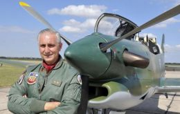However the training of military pilots is fulfilled normally, said Brigadier Eduardo La Torre (Photo: La Voz del Interior)
