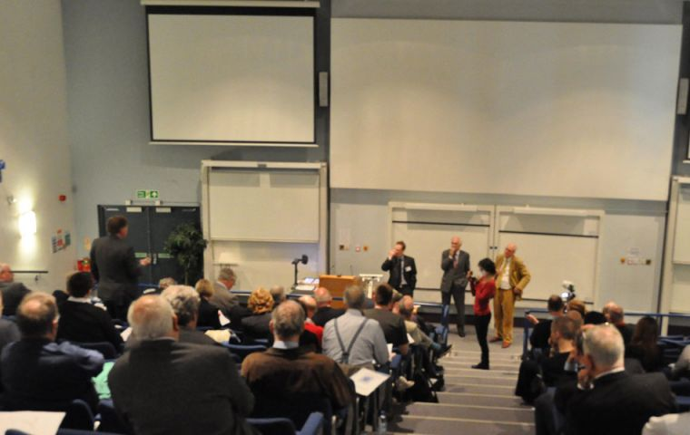 The Conference at Kent University at Canterbury (Photo by Peter Pepper)